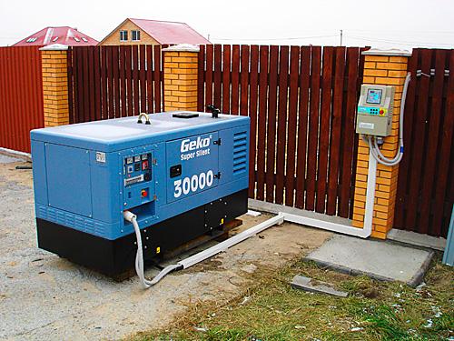 автономная электростанция для коттеджа